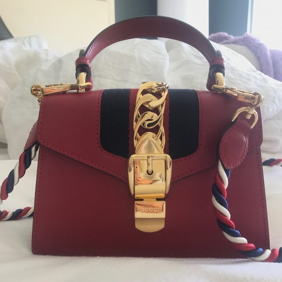 8c8f1e184bdd Gucci Bags | Mini Sylvie Leather Crossbody Bag New | Poshmark